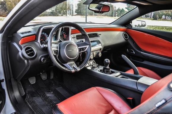 camaro interior 2