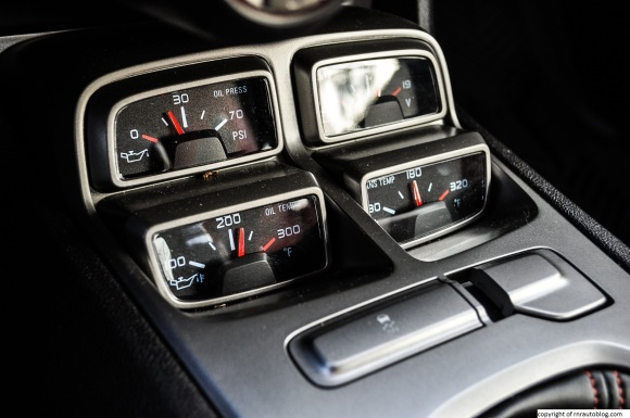 camaro temp gauges