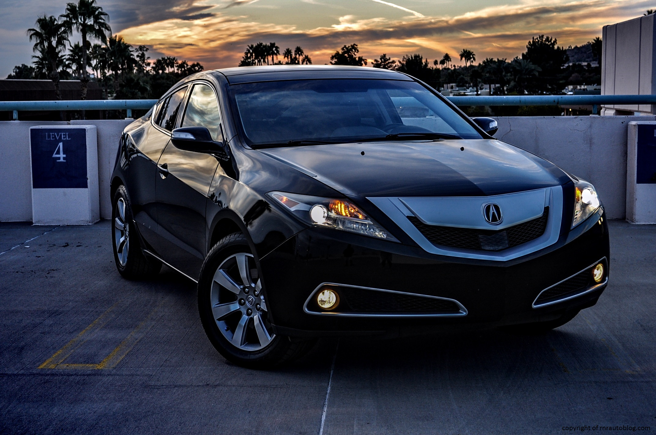 2010 acura zdx advance review