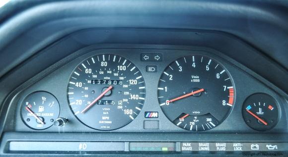 bmw gauges