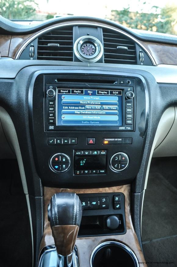 buick controls