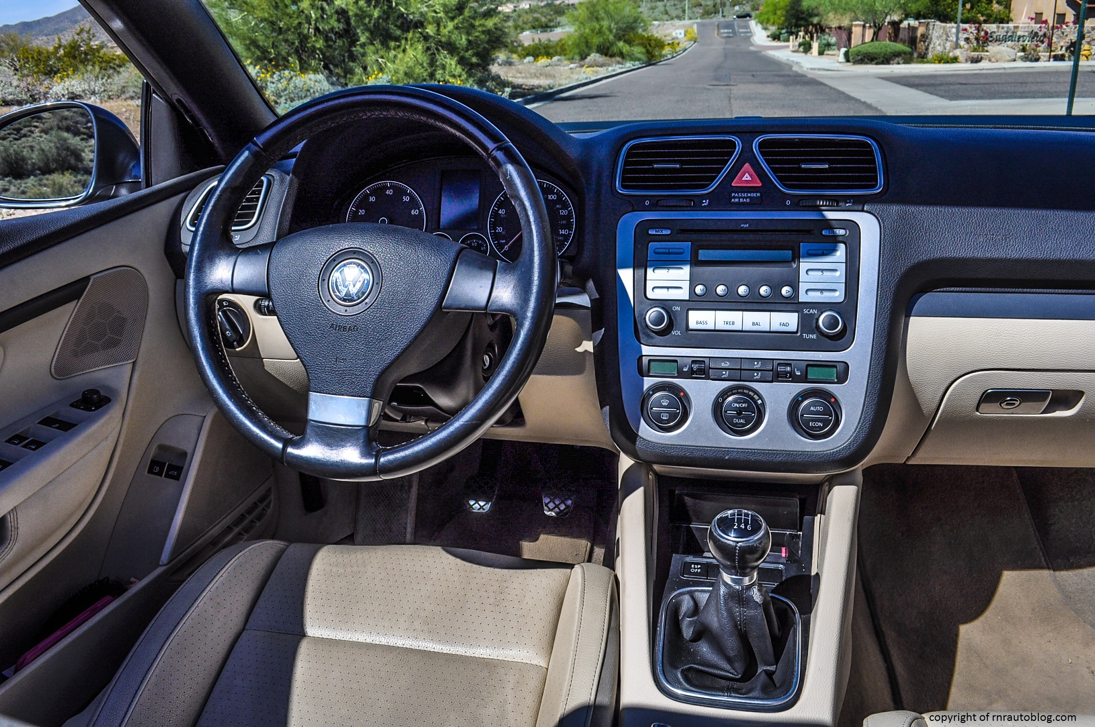 volkswagen eos base review rnr automotive blog