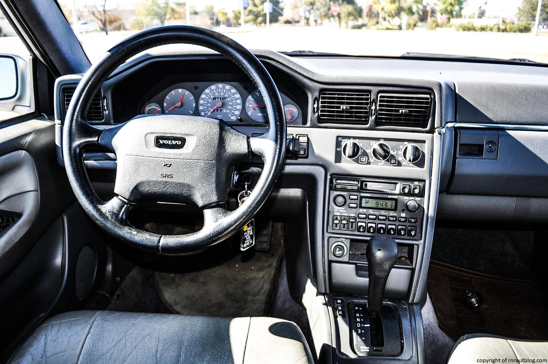 Volvo Interior on 1995 Volvo 960