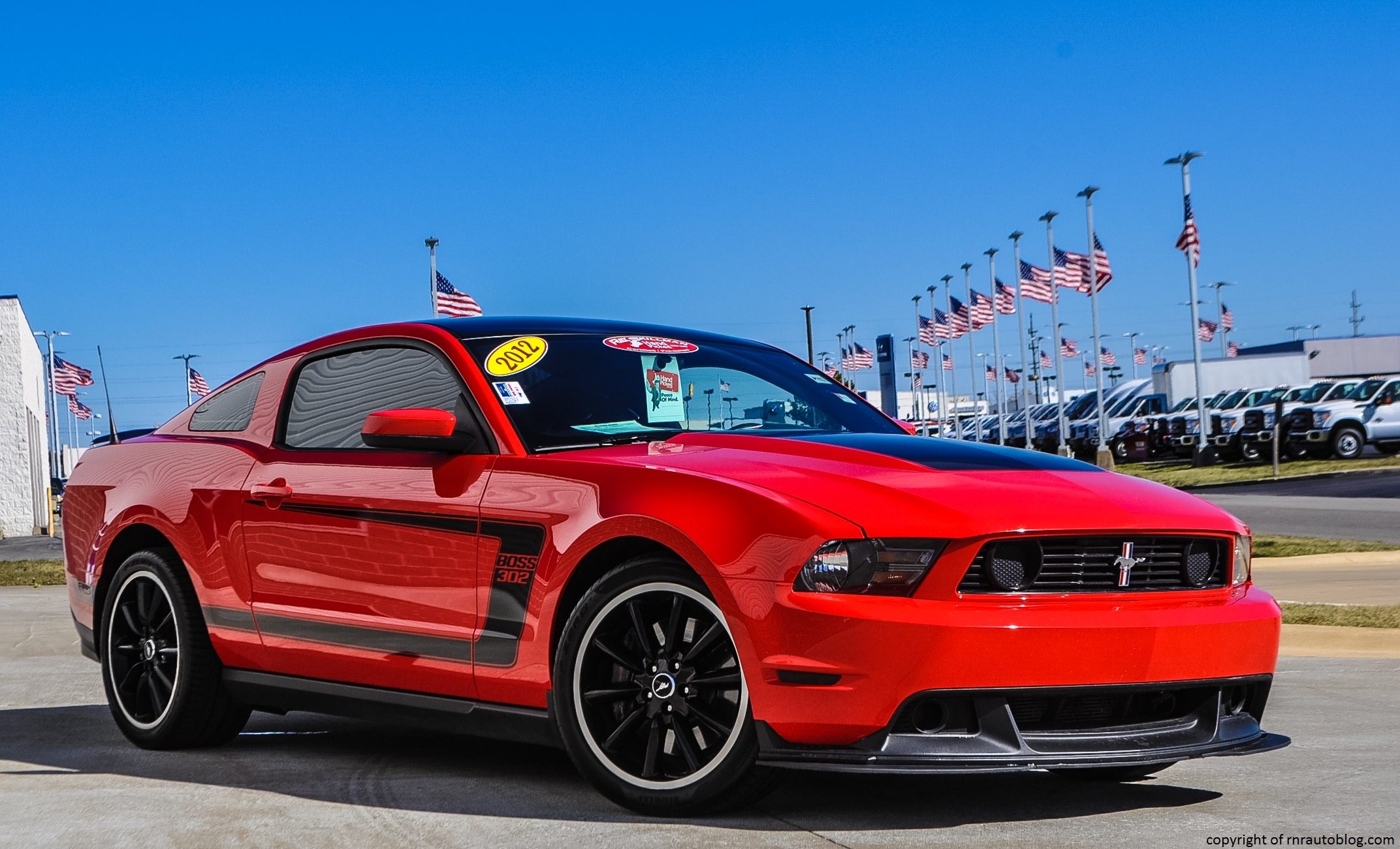 2012 ford mustang boss 302 review rnr automotive blog. Black Bedroom Furniture Sets. Home Design Ideas