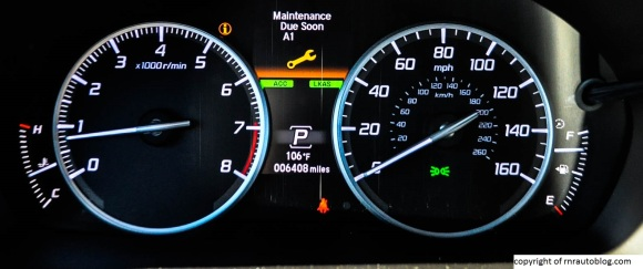 acura gauges